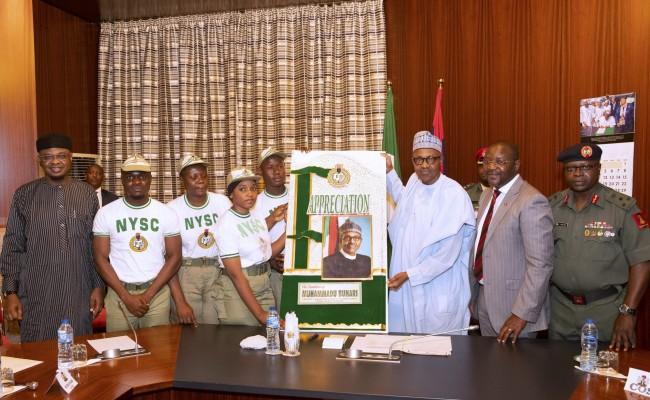 Buhari and Nysc corps