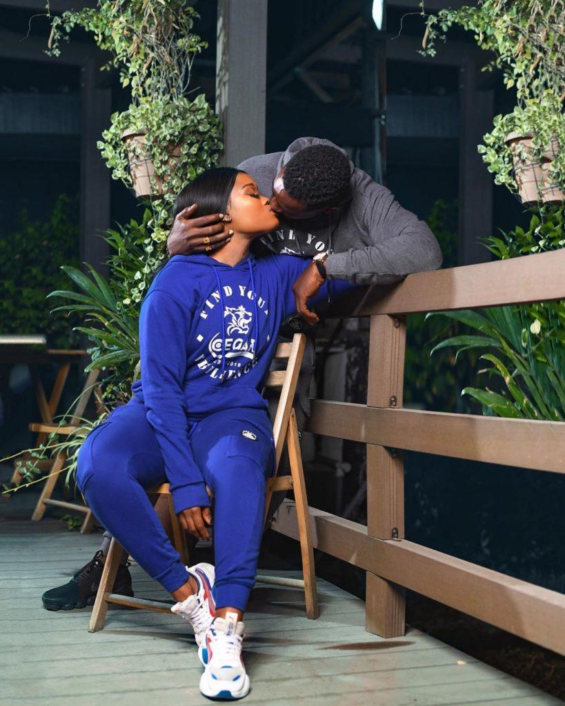 Ceec kisses Mawuli Gavor